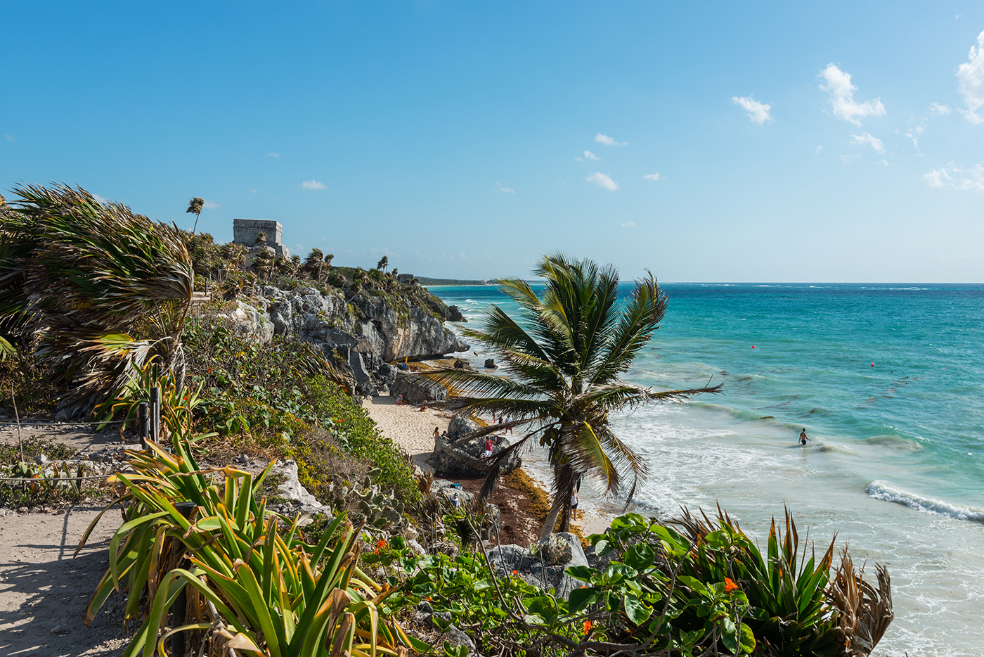 Tulum Beach Ruins // Tulum Travel Guide