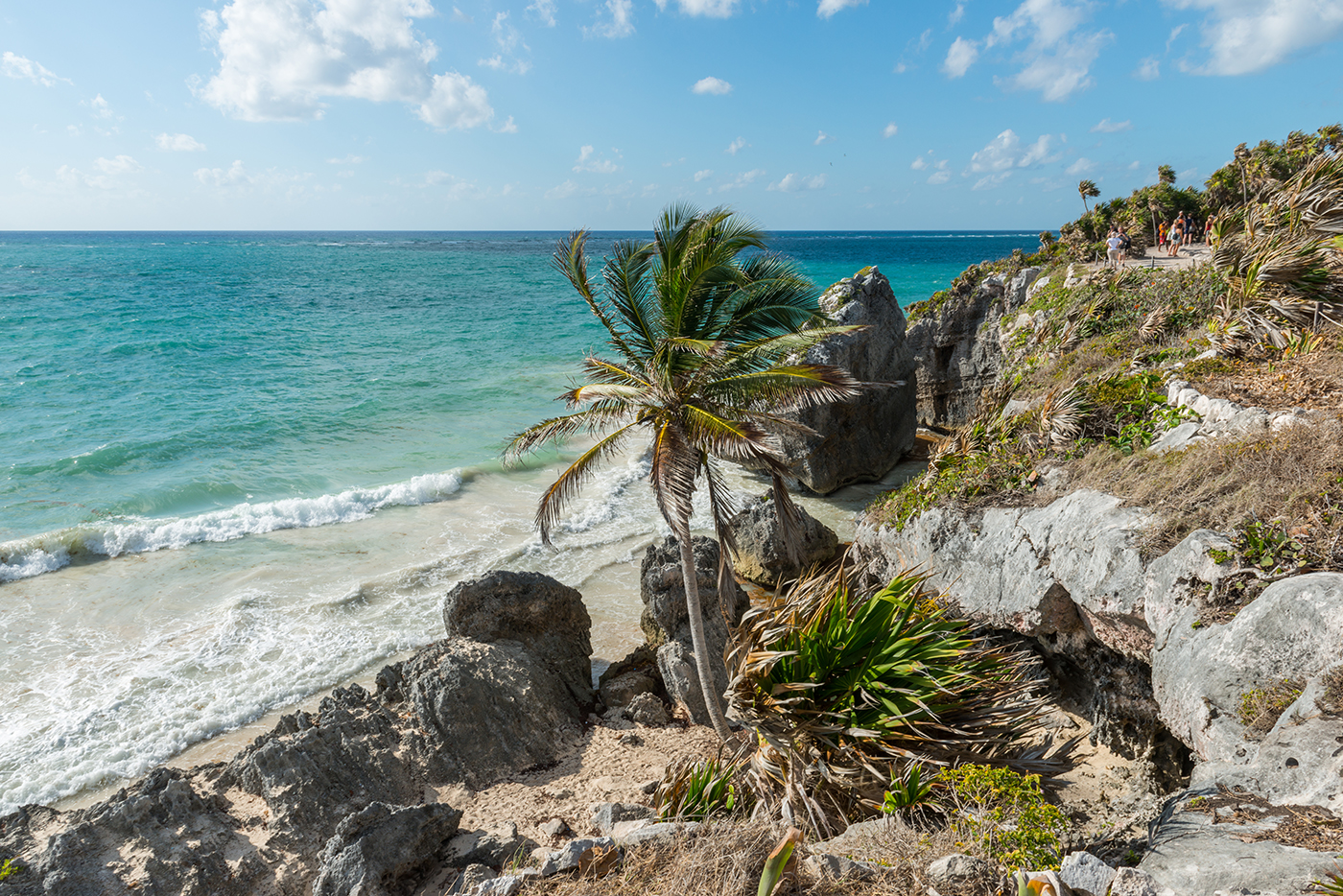 Tulum Beach by Ruins